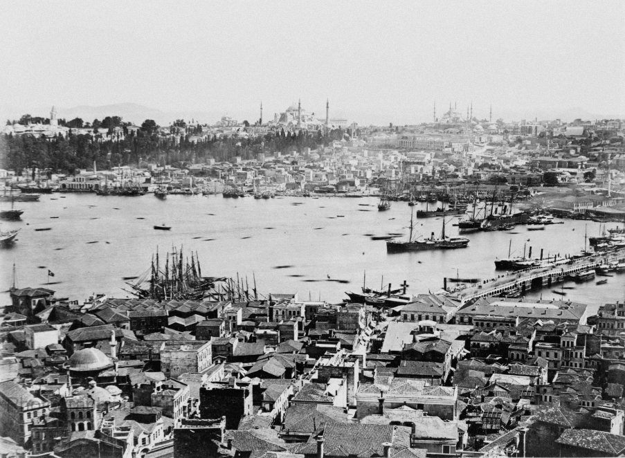 Historische Fotografie in Istanbul