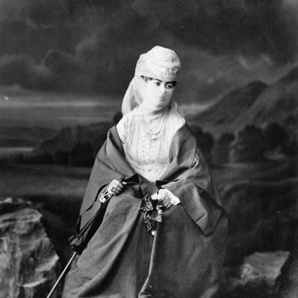 Türkische Frau, Abdullah Freres, 1869