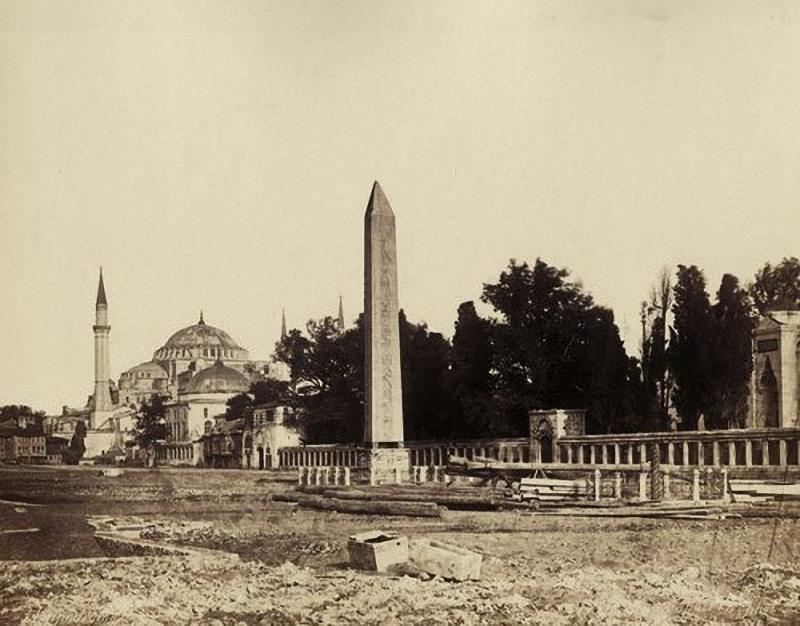 Hippodrom in Istanbul, 1870
