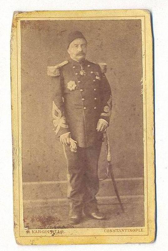 Portraitbild im Cabinet Format, 1870