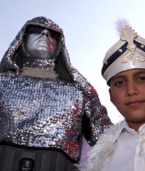 Suennet-Feier-mit-Robotman von RobotAdam - RobotMan Mustafa