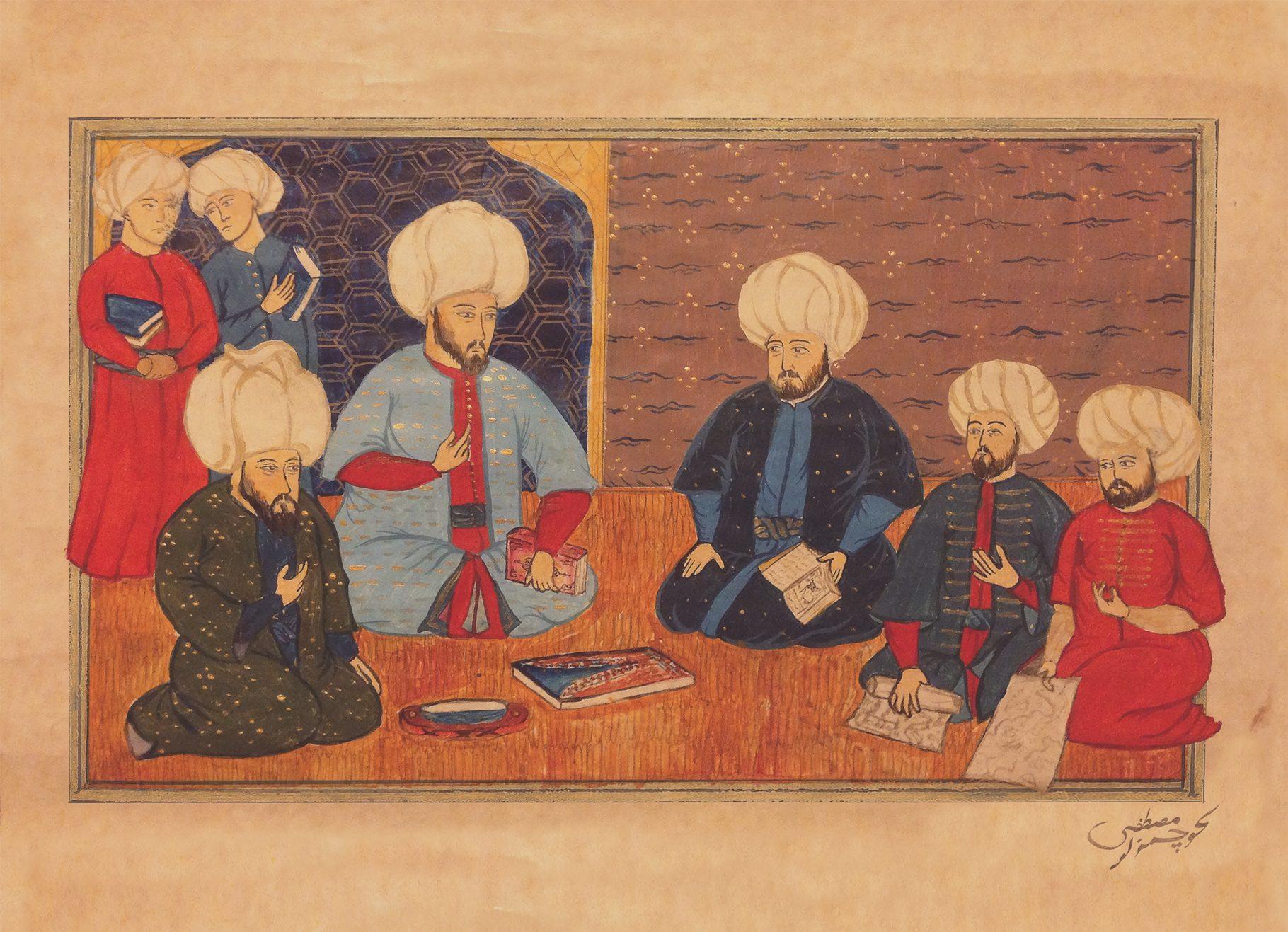 Islamische Miniaturen