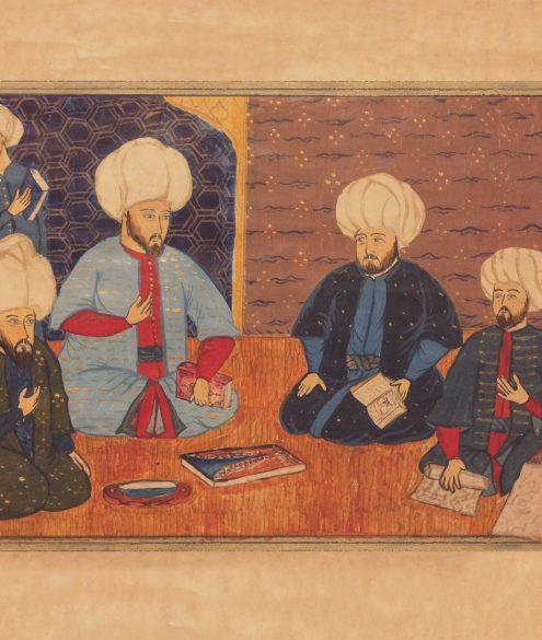 Miniatur von Nakkas Hasan, etwa 1604