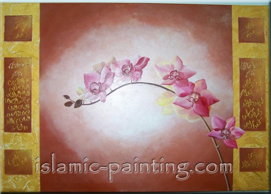 Orchideen von Aischa Panning