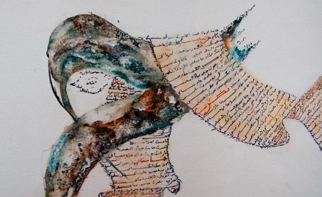 Lahsen Azougaye – Der Kalligraphie eine Krone verleihen