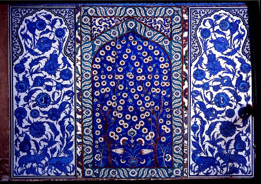 Cini-Kacheln - Keramik aus Istanbul