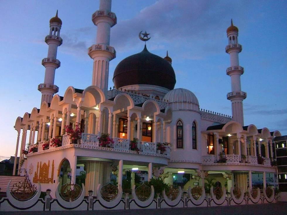 Ahmadiyya Anjuman Isha'at Islam Moschee, Paramaribo, Surinam