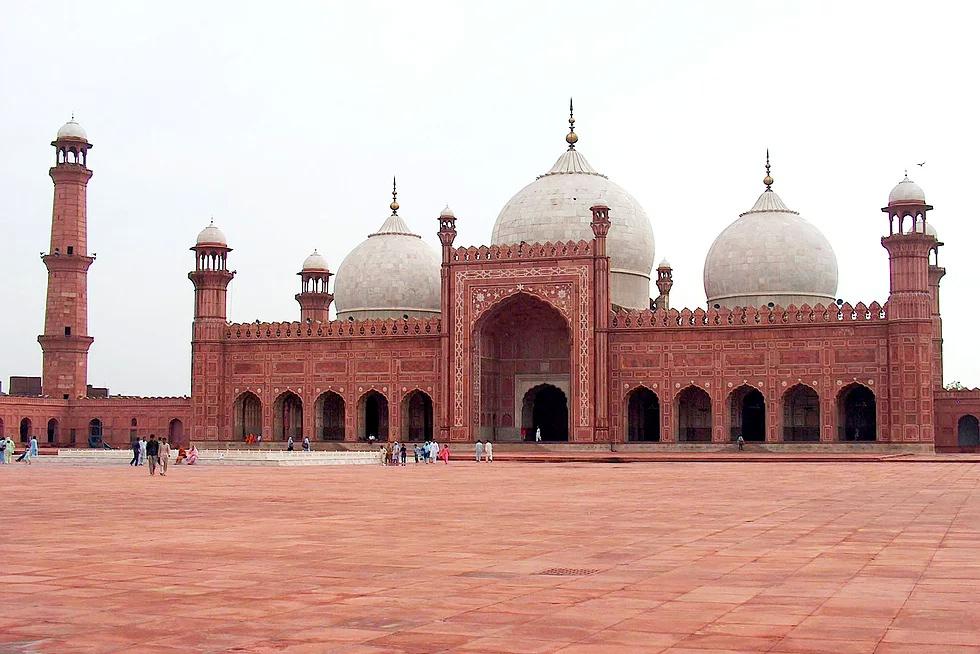 Badshahi Moschee, Lahor, Pakistan