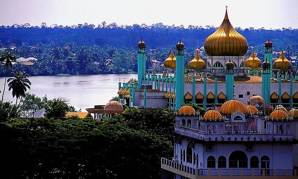 Bahagian Kuching Moschee, Sarawak, Malaysia