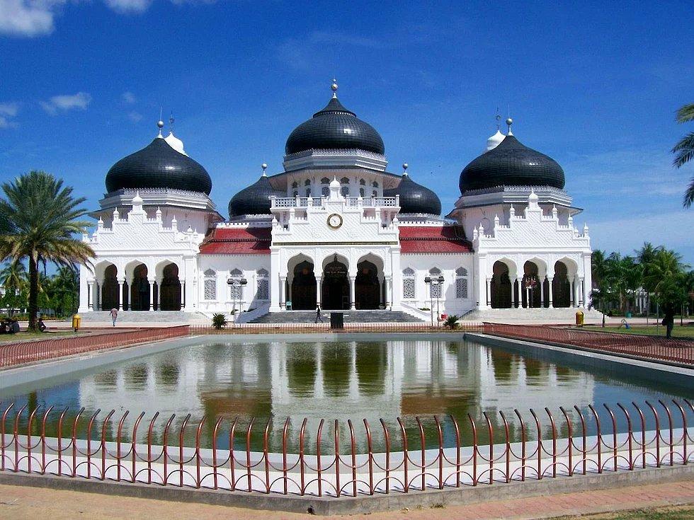 Baiturrahman Große Moschee, Banda Aceh, Indonesien