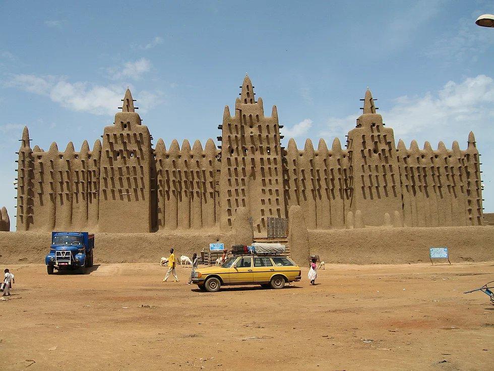 Große Cenne Moschee, Cenne, Mali