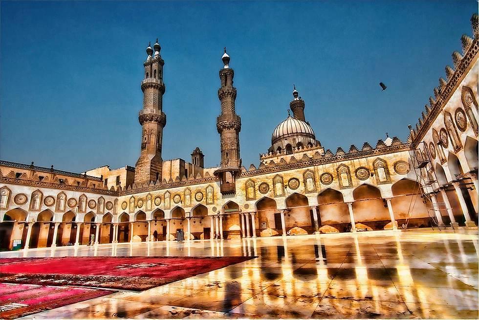 El-Ezher Moschee, Kairo, Ägypten