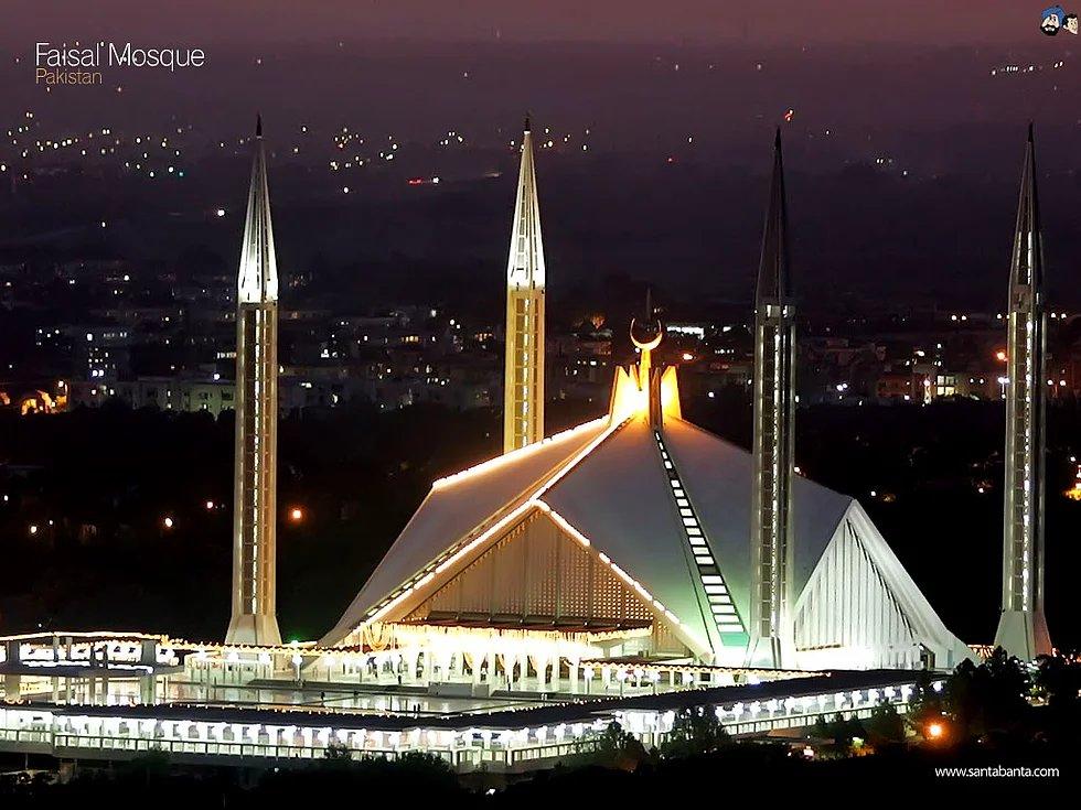 Faysal Moschee, Islamabad, Pakistan