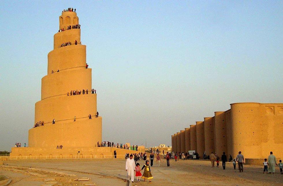 Große Samarra Moschee, Samarra, Irak