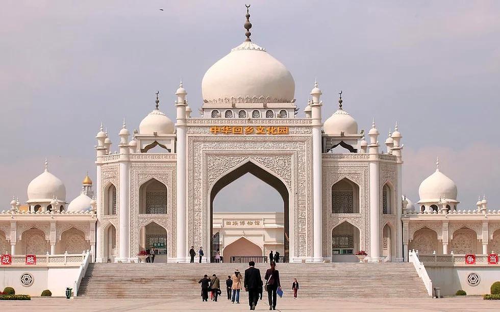 Hui Moschee, Ningxia, China