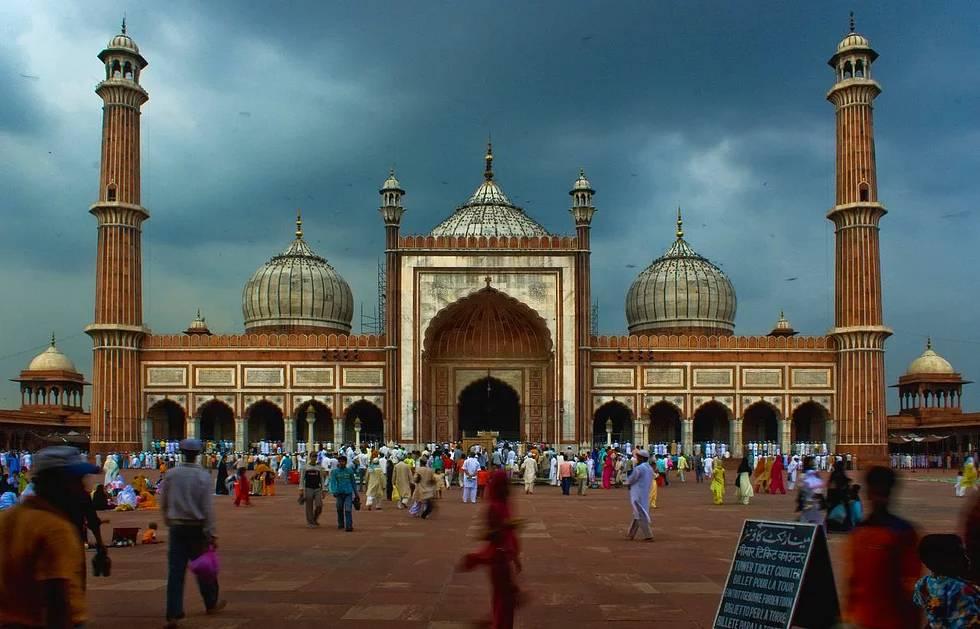 Jama Mescid, Delhi, Indien