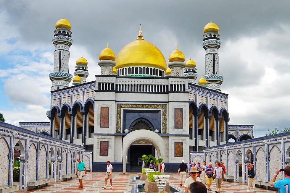 Jame'Asr Hassanil Bolkiah Moschee, Bandar Seri Begawan, Brunei