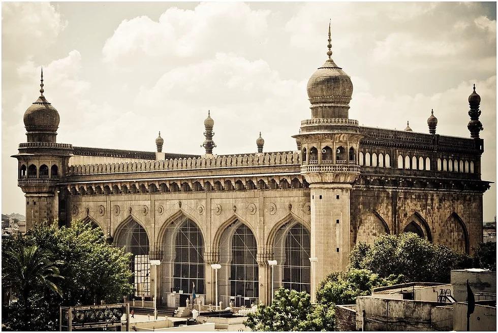 Mekka Moschee, Haydarabad, Indien