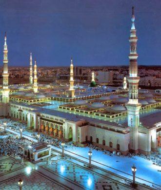 Mescit-i Nebevî, Medina, Saudi Arabien