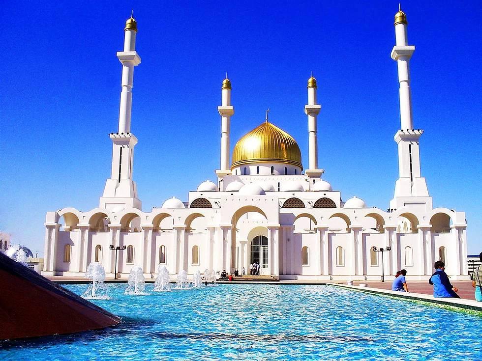 Nur Astana Moschee, Astana, Kasachstan