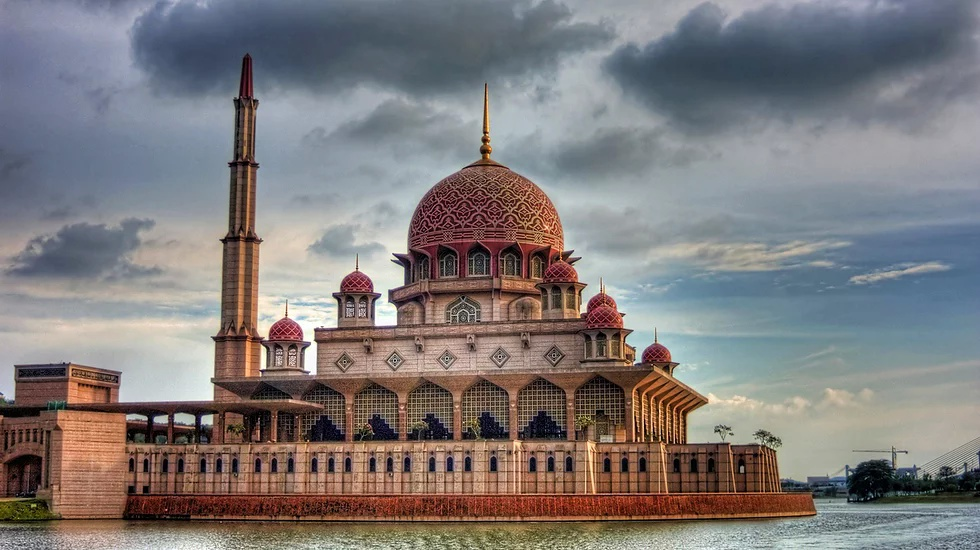 Putra Moschee, Putrajaya, Malaysia