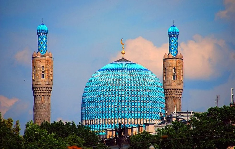 St. Petersburg Moschee, St. Petersburg, Russland