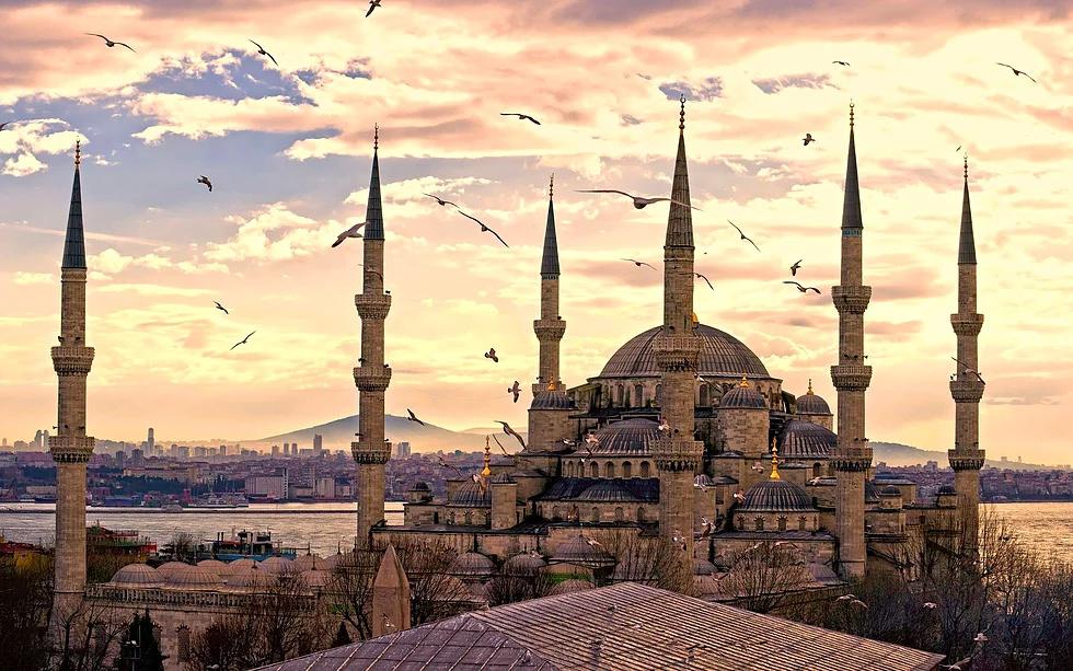 Sultan Ahmet Moschee, Istanbul, Türkei