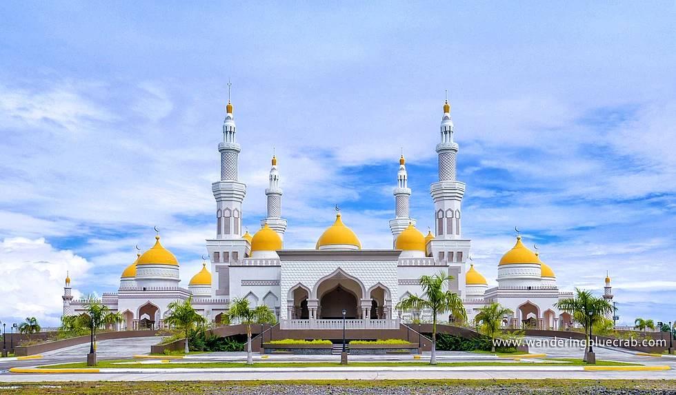 Sultan Hacı Hasan El Bolkiah Moschee, Cotabato, Philipinen