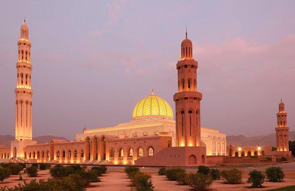 Sultan Kâbus Moschee, Maskat, Oman
