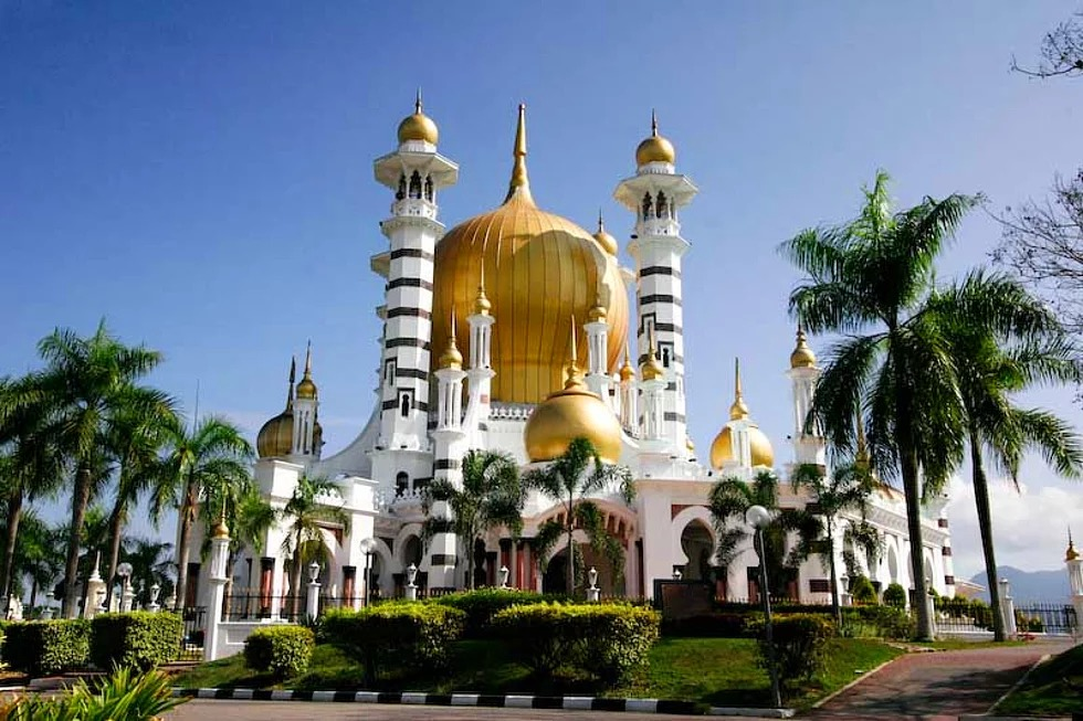 Ubudiah Moschee, Kuala Kangsar, Malaysia