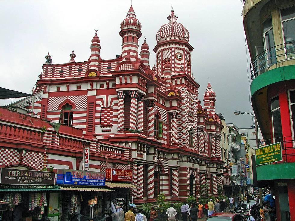 Ul-Alfar Moschee, Kolombo, Sri Lanka