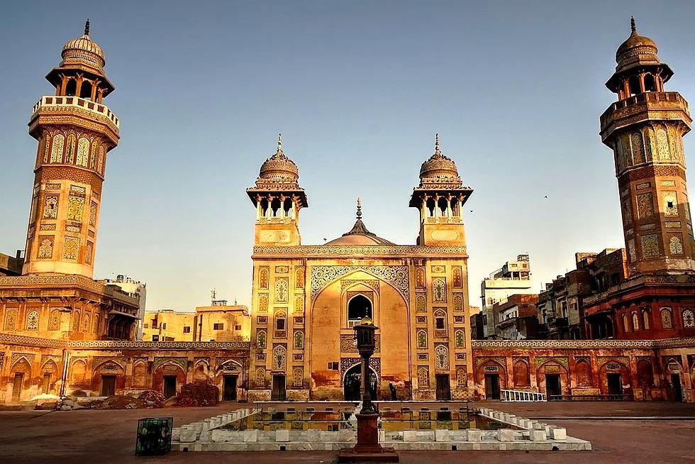 Vezir Han Moschee, Lahor, Pakistan