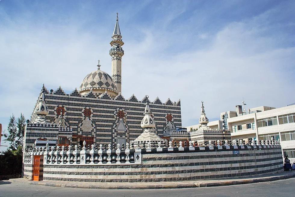 Abu Darwisch Moschee, Amman, Jordanien