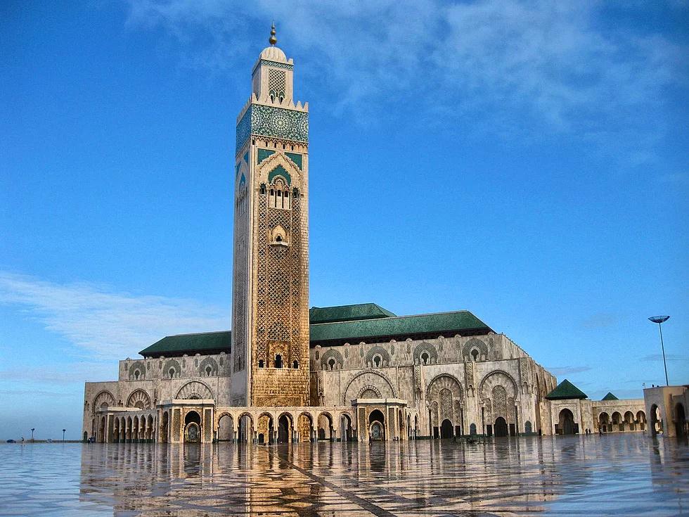 Hasan II. Moschee, Casablanca, Marokko