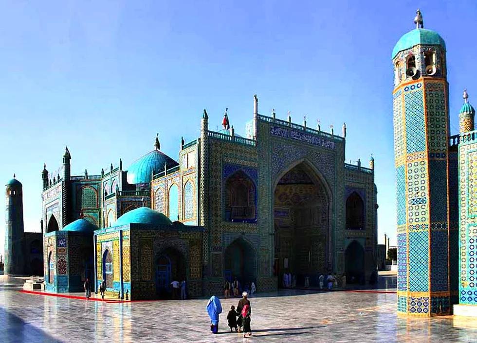 Hz. Ali Moschee, Masar-e Scharif, Afghanistan