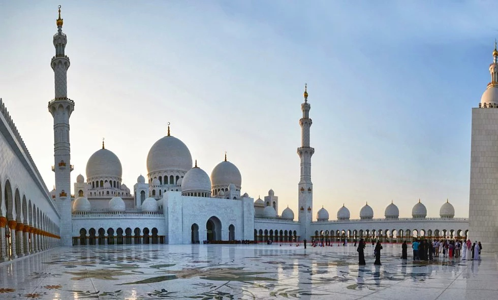 Scheich Zayed Moschee, Abu Dhabi, VAE