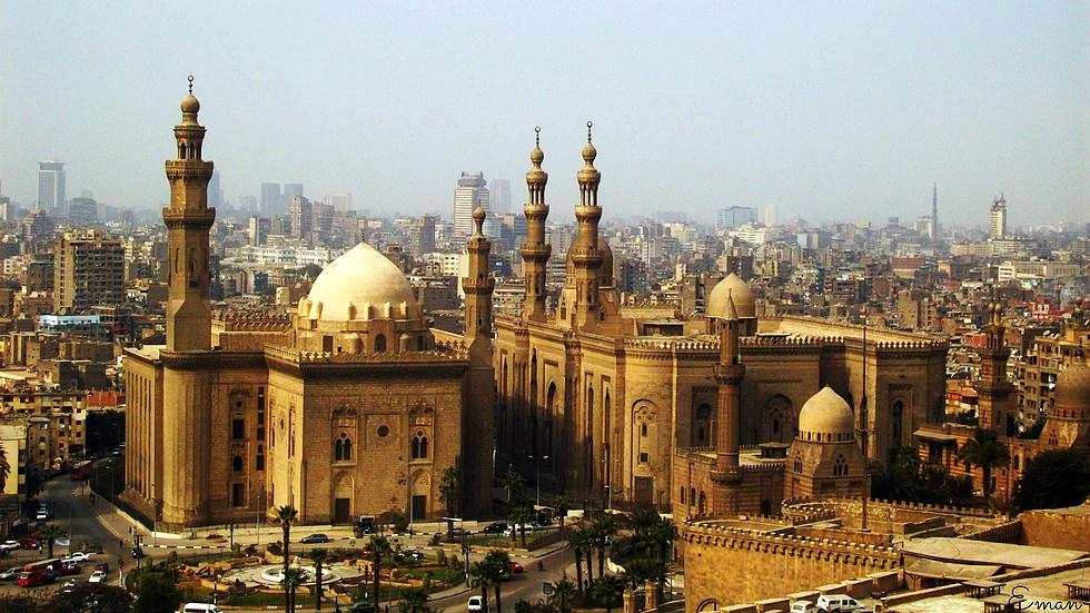 Sultan Hasan Moschee, Kairo, Ägypten