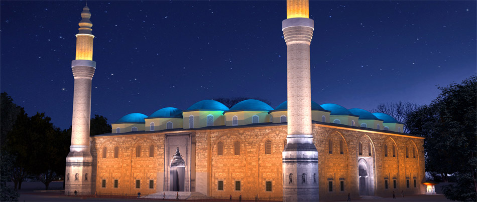 Ulu Moschee, Bursa, Türkei