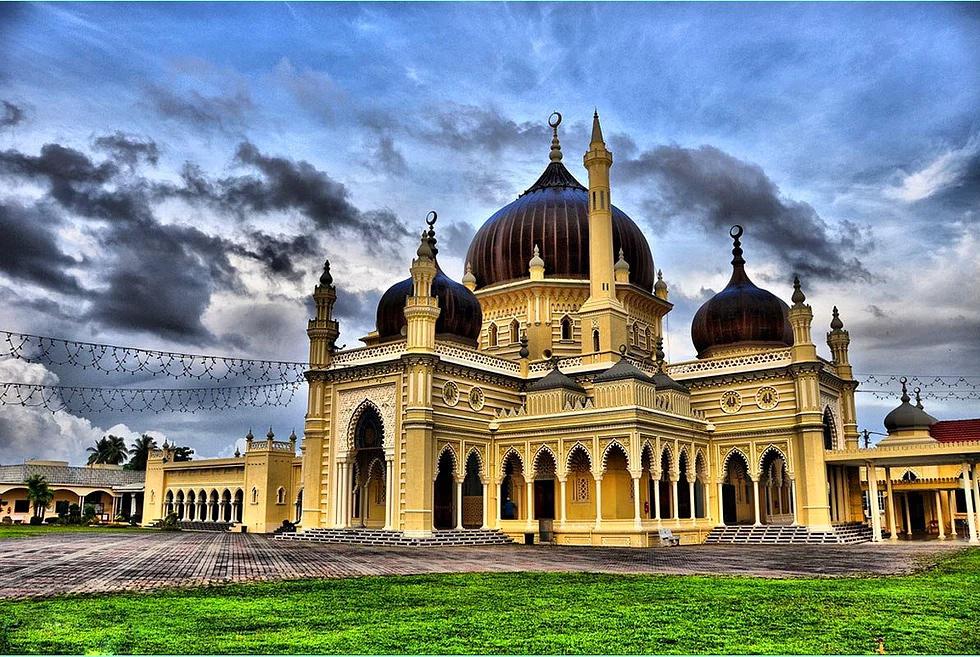 Zahir Moschee, Kedah, Malaysia