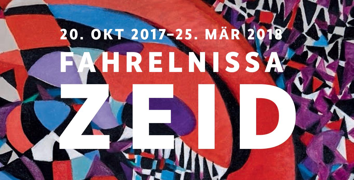 """Ausstellung """"Fahrelnissa Zeid"""" in der dbKunstHalle in Berlin"""