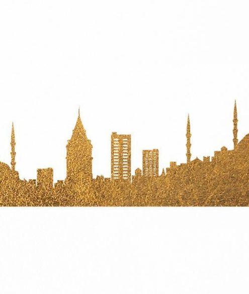 Istanbul Skyline Print