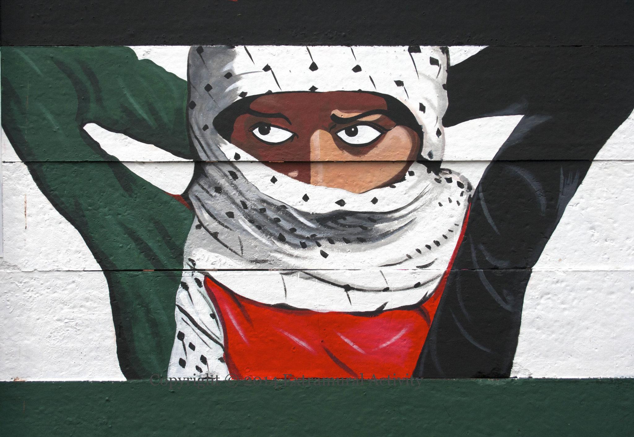 Kufiya - Symbol des Widerstands \