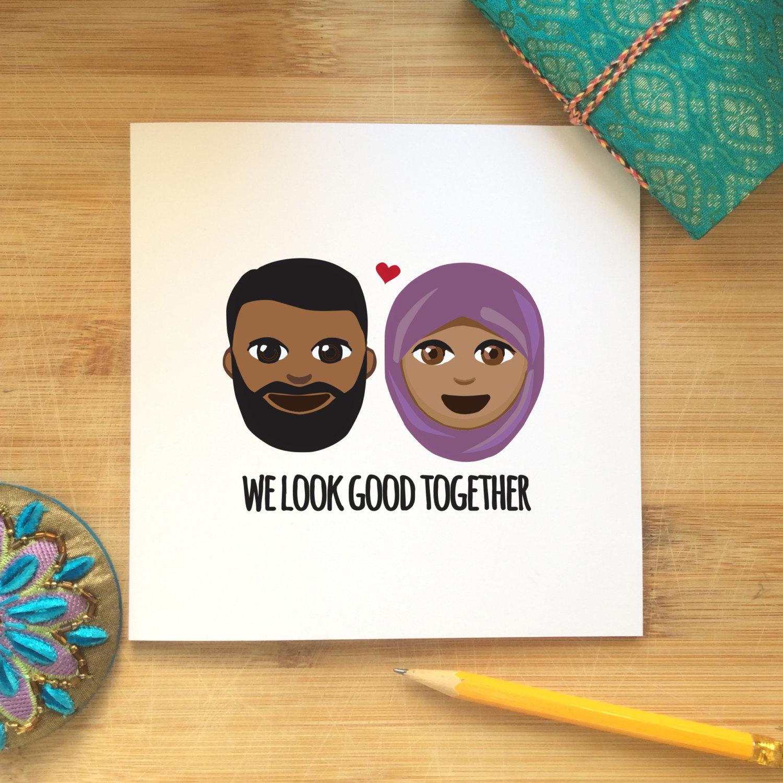 Islamische Liebeskarten