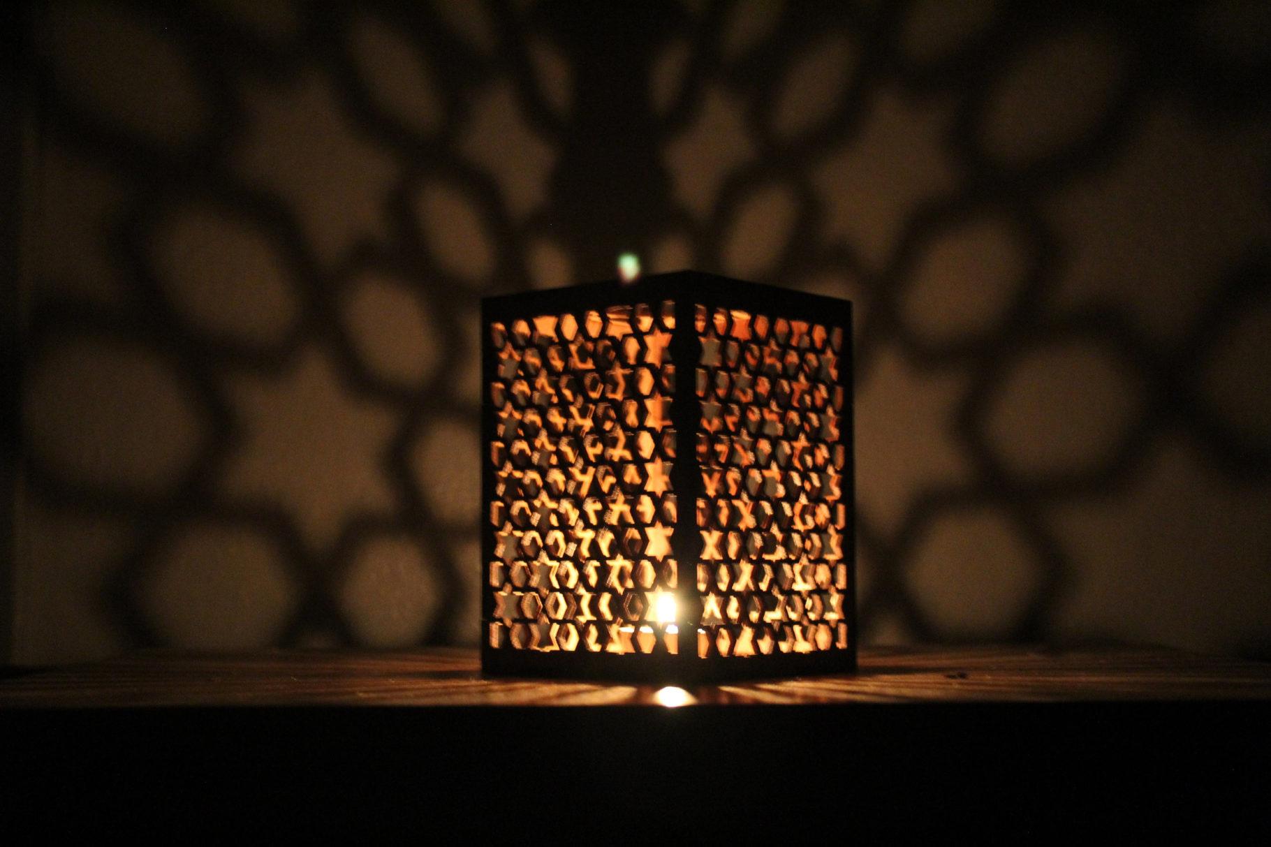 Marokkanischer Schirmlampe