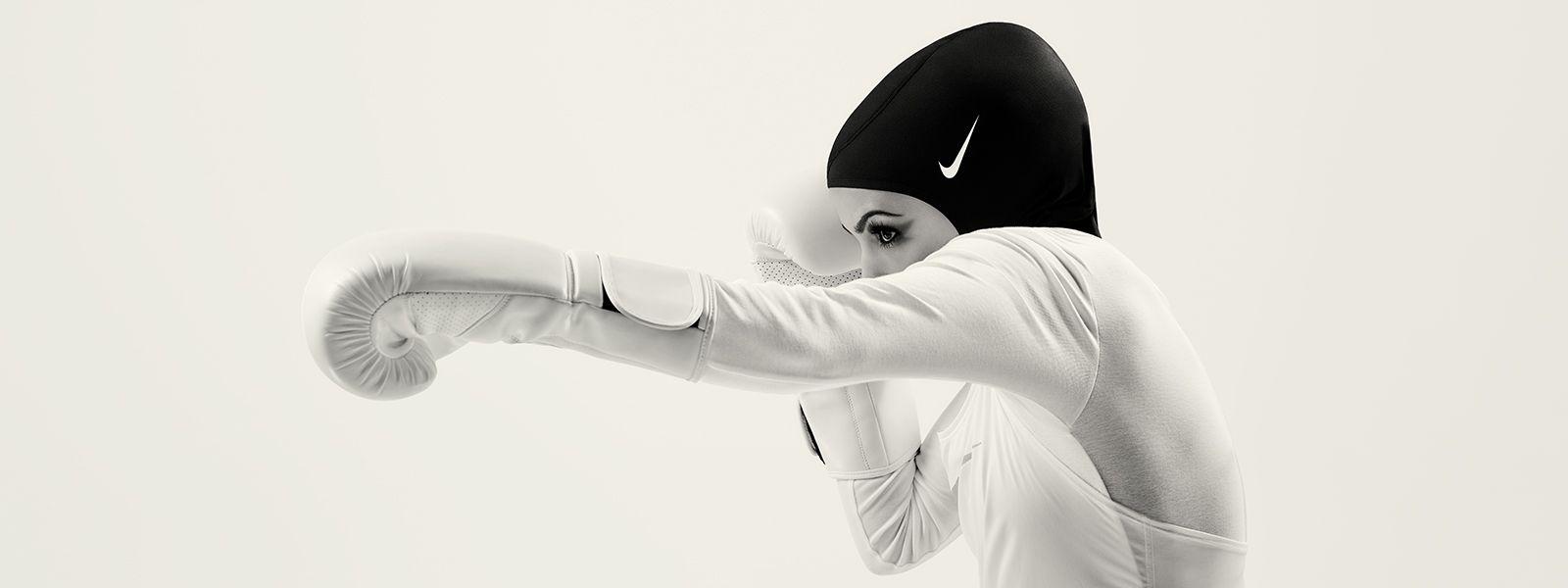Nike Pro Hijab Kopftuch Sportschal